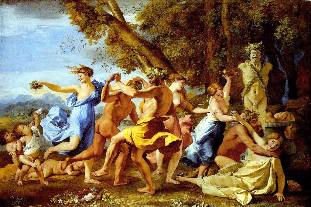 A Tempo Quartet - Bacchanalllia Poussin